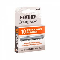 Feather Standard Hair Razor Blades 10 pack