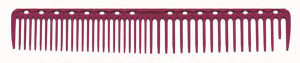 YS Park 338 Long Round Tooth Hair Comb