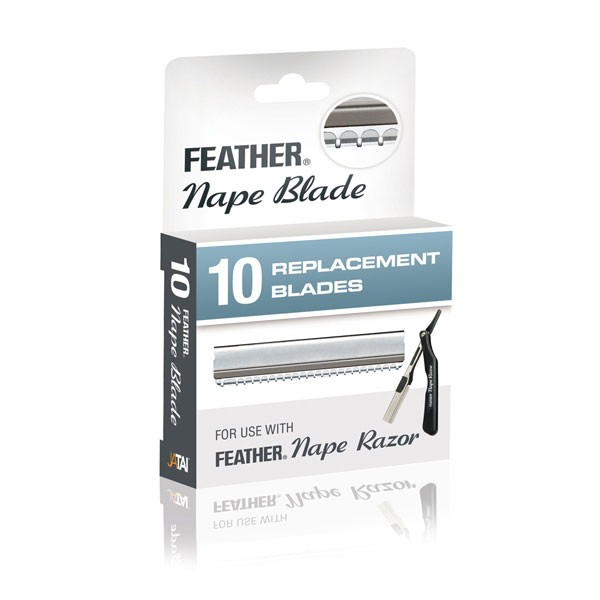 Feather Nape Razor Blades 10 pack