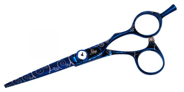 Aikyo AIB Professional Hair Cutting Shears Blue Titanium Finish